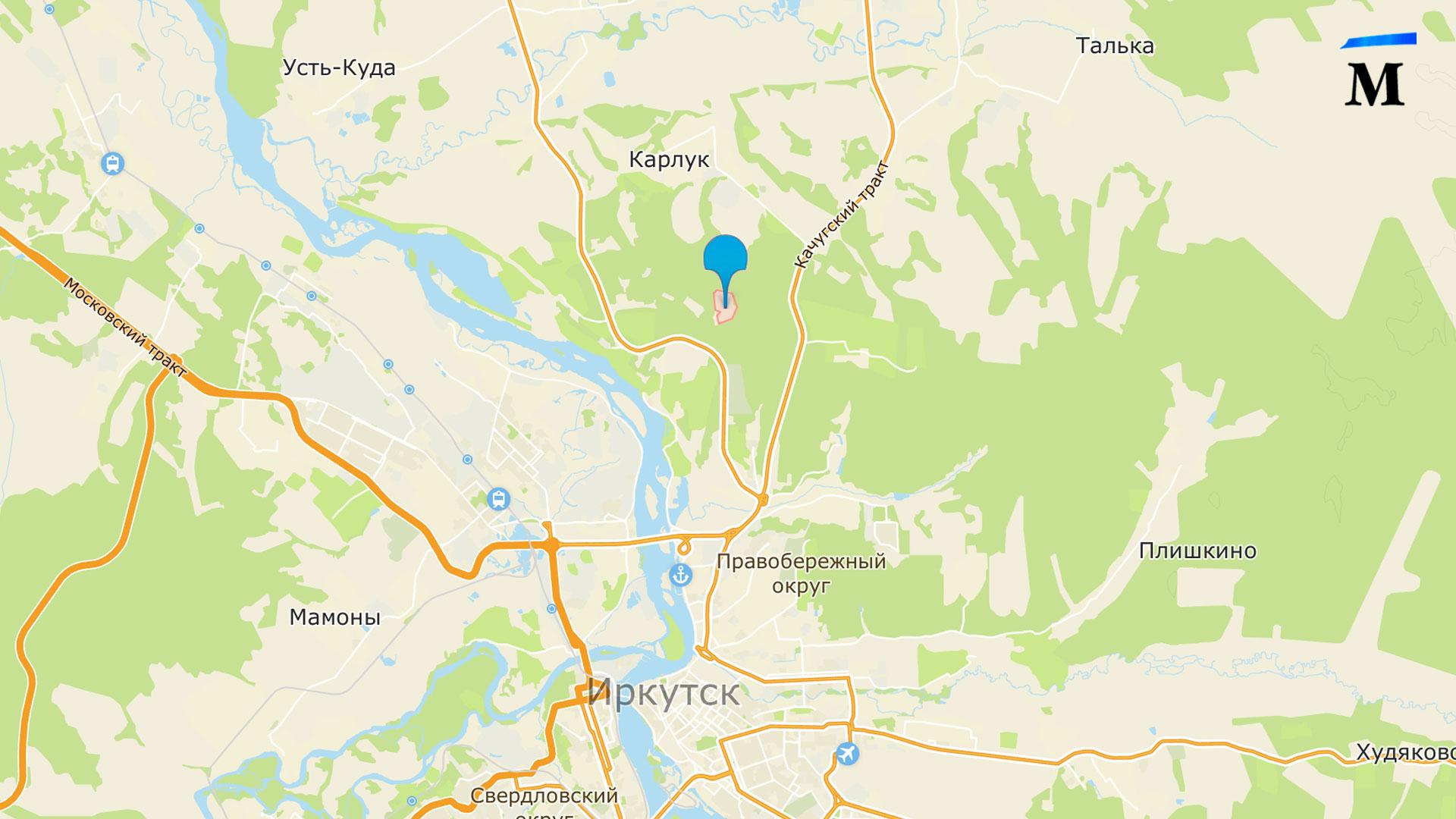 Адрес свалки Иркутск